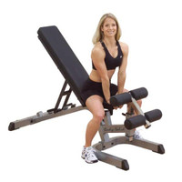 Body Solid Heavy Duty Flat / Incline / Decline Bench (GFID71)