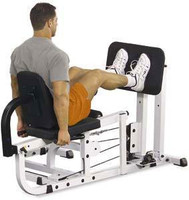 Body Solid Leg Press Option for the EXM4000S Home Gym