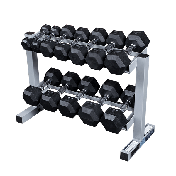 "Body Solid Powerline 32"" Dumbbell Rack (PDR282X)"