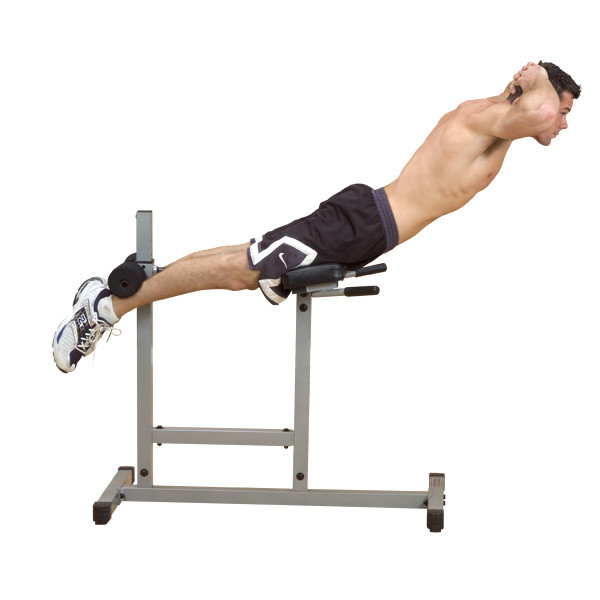 Body Solid Powerline Roman Chair Hyperextension