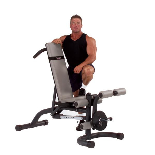 Body Solid Olympic Leverage Flat / Incline / Decline Bench - FID46 (FID46)