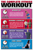 Fitness Workout Fitness Chart F20