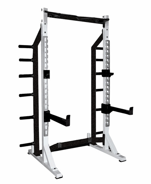 York Dumbbell Exercise Programme: York Barbell Half Rack (Commercial