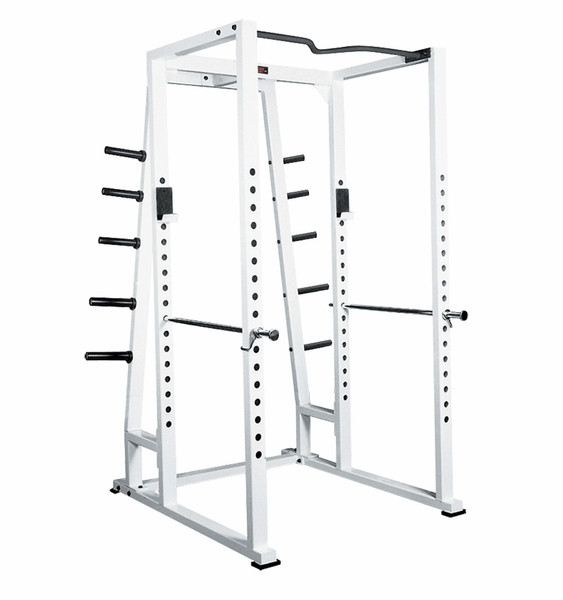 York Dumbbell Exercise Programme: York Barbell Power Rack With Weight Storage