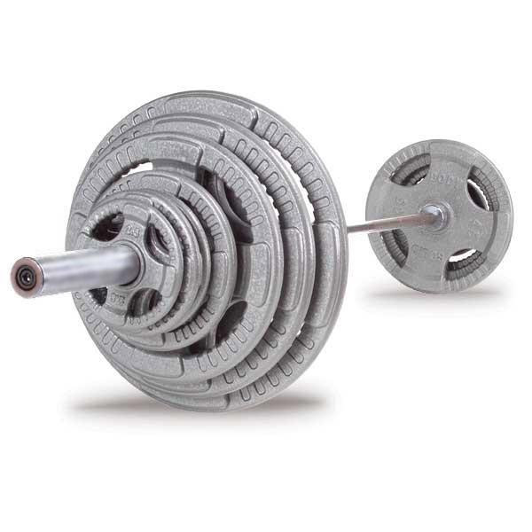 Body Solid 400 lb. Olympic Grip Set