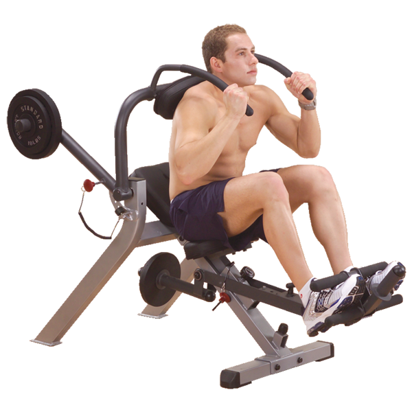 Body Solid Semi Recumbent Ab Bench For Sale
