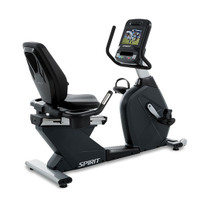 Spirit CR900-ENT- FC Recumbent With TV and Internet