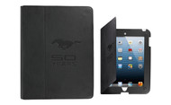 Mustang 50th Anniversary-Mustang 50 Years Black Leather Ipad Case