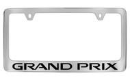 Pontiac Grand Prix Block Letters License Plate Frame