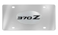 Nissan 370Z 370 Z Chrome Plated Solid Brass Emblem Attached To a Stainless Steel Plate