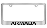 Nissan Armada Official Chrome License Plate Frame Tag Holder