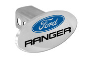 Ford Ranger with Logo Oval Trailer Hitch Cover Plug