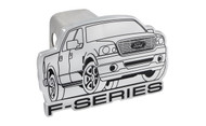 Ford F-Series Cutout Trailer Hitch Cover Plug