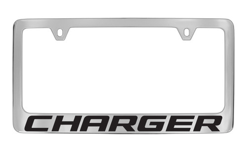 Dodge Charger Block Letters License Plate Frame Tag Holder with ...
