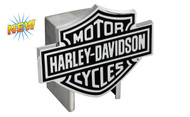 Harley-Davidson Hitch Cover Black Harley-Davidson Bar & Shield Logo Emblem Plus Hitch Ball Post Components (HDHCBE14)
