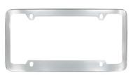 Chrome Plated Plain License Plate Frame 4 Hole (LF324-4H)