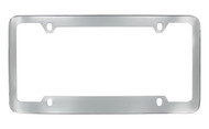 Chrome Plated Plain License Plate Frame 4 Hole (LF324)