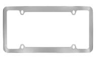 Chrome Plated Plain License Plate Frame 4 Hole (LF326)