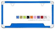 Plain License Plate Frame with Carbon Fiber Insert (LFCF)