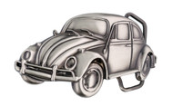 Volkswagen Beetle Belt Buckle Brass With A Chrome Finish