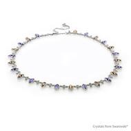 Coral Reef Necklace Embellished With Swarovski® Crystals