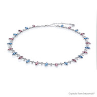 Fairy Trail Necklace Embellished With Swarovski® Crystals