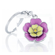 Pink Flower Key Chain (KC008-P)