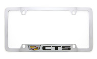 Cadillac CTS metal license plate frame. Quality craftsmanship and best on the market. Durable for harsh weather. Standard US frame size. Official licensed product.