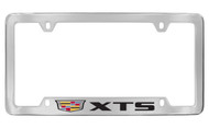 Cadillac XTS metal license plate frame. Quality craftsmanship and best on the market. Durable for harsh weather. Standard US frame size. Official licensed product.