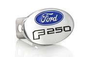 Ford F 250 Metal Trailer Hitch Cover Plug (2 inch Post)