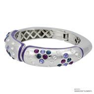 Mona Bangle Embellished with Swarovski Crystals