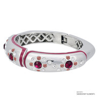 Ada Bangle Embellished with Swarovski Crystals