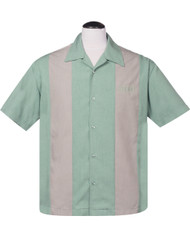 Steady Simple Times Button Up - Mint