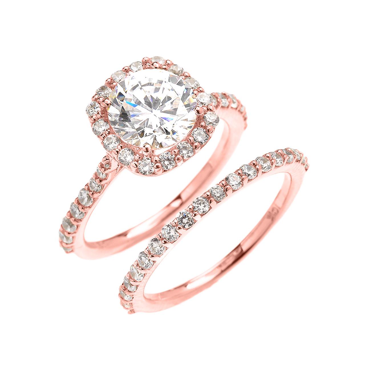 Princess Cut Wedding Rings Sets 004 - Princess Cut Wedding Rings Sets