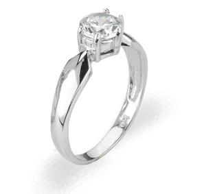 Ladies Cubic Zirconia Ring - The Felicity Diamento