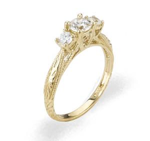 Ladies Cubic Zirconia Ring - The Yaretzi Diamento