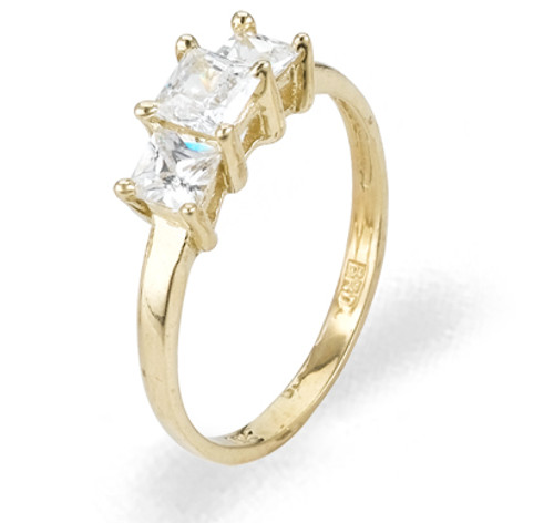 Ladies Cubic Zirconia Ring - The Owena Diamento