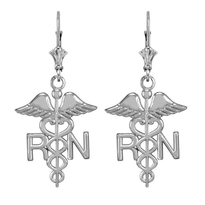 Gold RN Registered Nurse Pendant