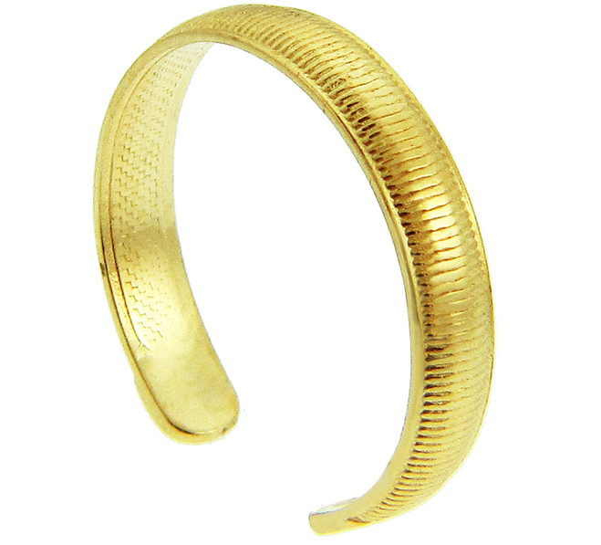 Yellow Gold Classic Toe Ring