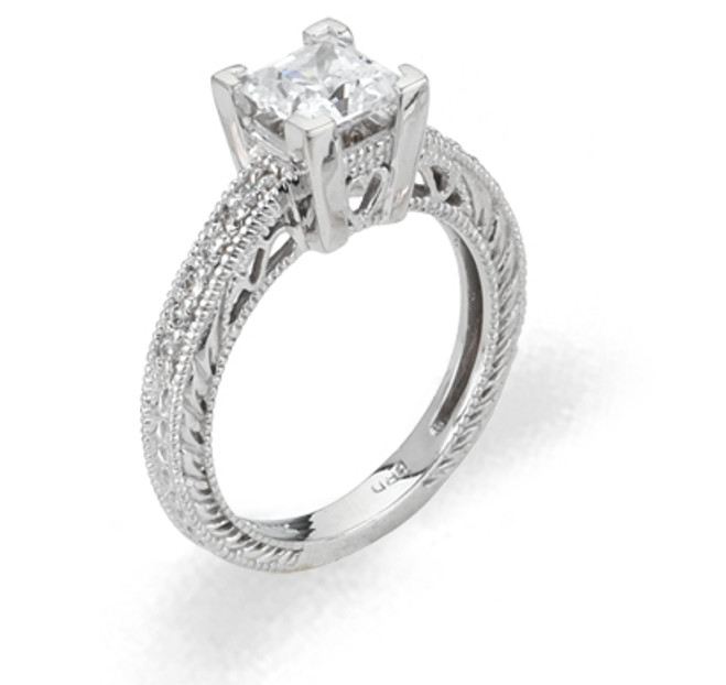 Ladies Cubic Zirconia Ring - The Maira Diamento