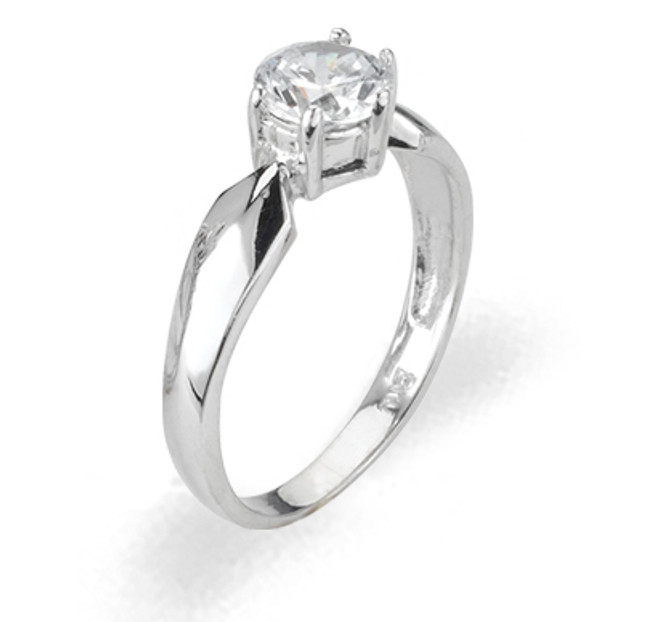 Ladies Cubic Zirconia Ring - The Felicity Diamento