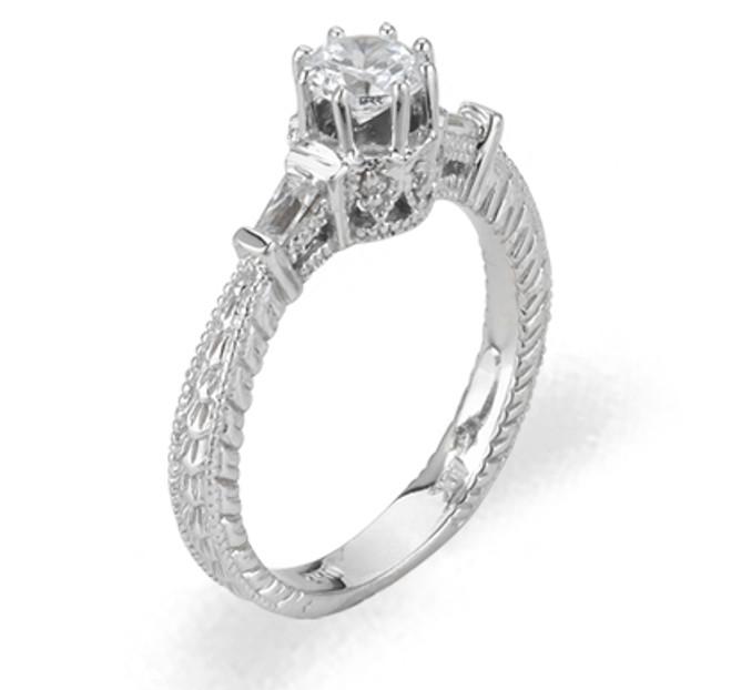 Ladies Cubic Zirconia Ring - The Bianca Diamento