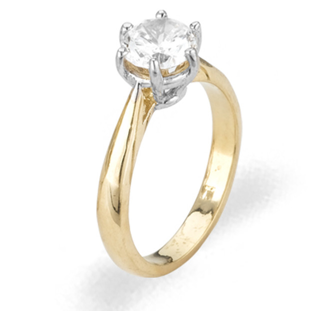Ladies Cubic Zirconia Ring - The Yesenia Diamento