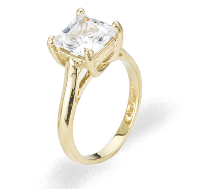 Ladies Cubic Zirconia Ring - The Eden Diamento