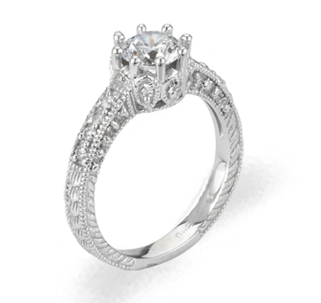 Ladies Cubic Zirconia Ring - The Giana Diamento