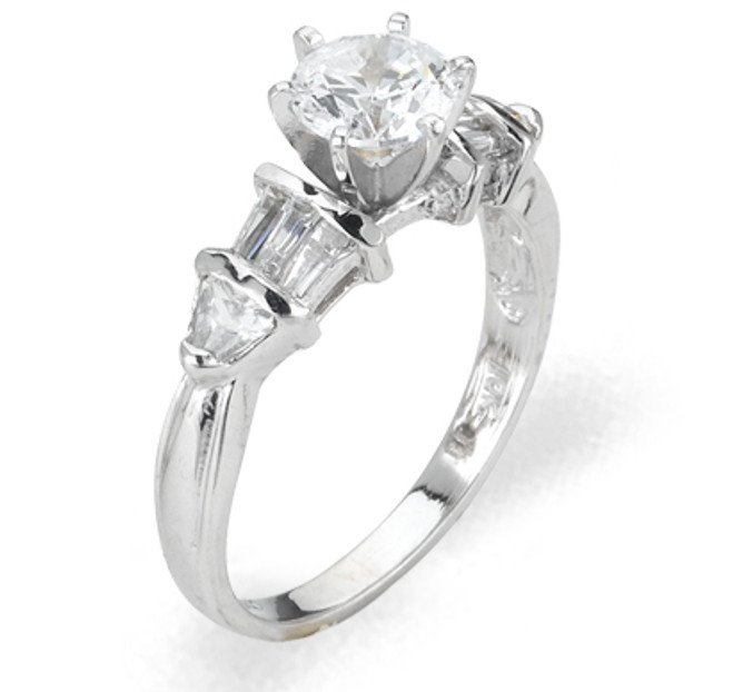 Ladies Cubic Zirconia Ring - The Mai Diamento