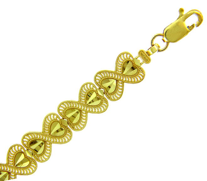 Yellow Gold Bracelet - The Victoria Bracelet