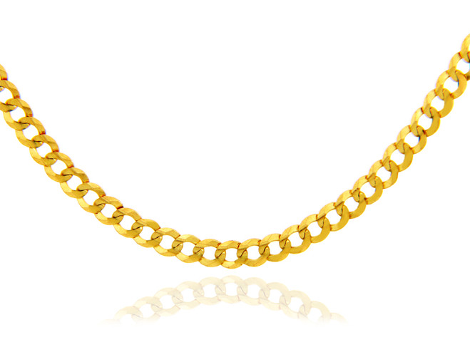 Gold Chains: Cuban Gold Chain 2.85mm