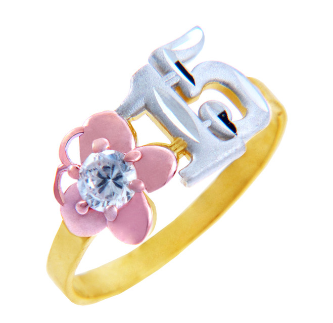 15 Años Ring - Quinceanera Ring with Cubic Zirconia