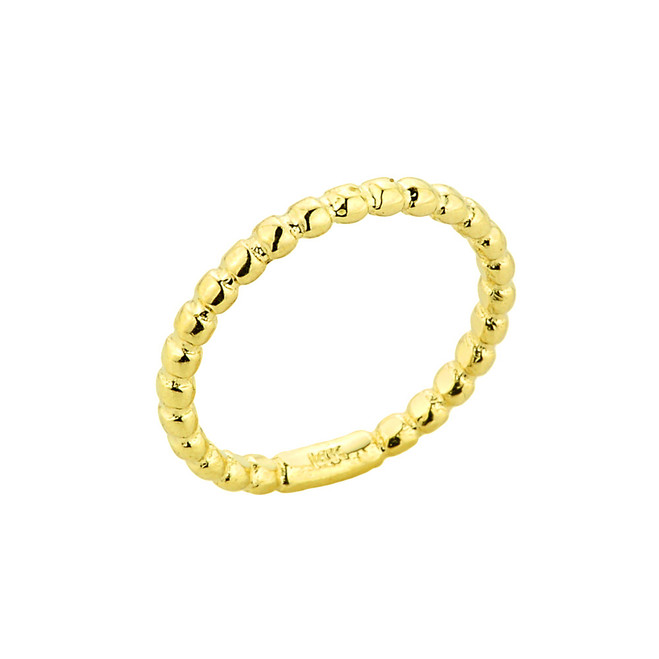 Gold Ball Chain Bead Toe Ring
